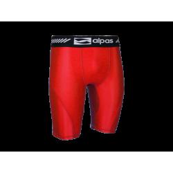 Elastické nohavice Alpas - červená